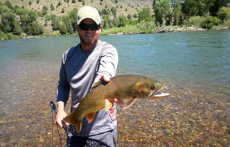 Our snake river fly fishing guides irwin id for Idaho fly fishing lodges